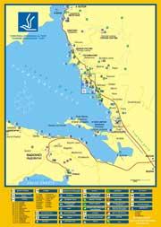 карта Тивата и Общтины подробная