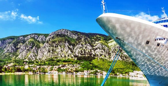 Морская интерактивная карта Побережья Черногории и Адриатического моря
