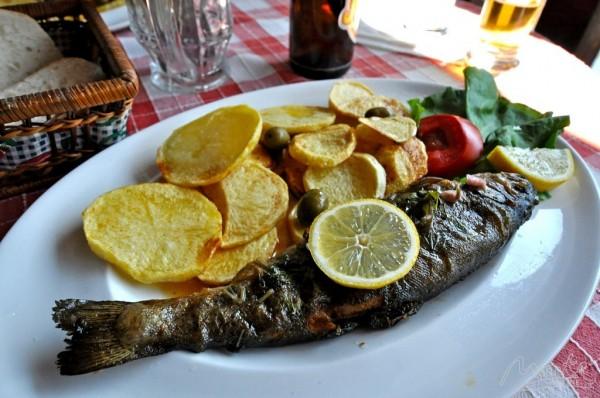 Рыбка с картофелем
