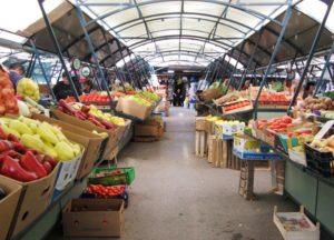 Рынок Zelena Pijaca в Будве