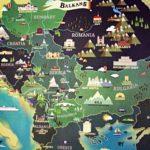 Балканы Черногория Албания Хорватия Македония